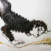 Michael Jackson - Ridiculous Spring Poster by Hitomi Osanai