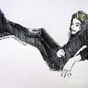 Michael Jackson - Turn It On Poster by Hitomi Osanai