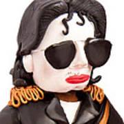Michael Jackson Poster by Louisa Houchen