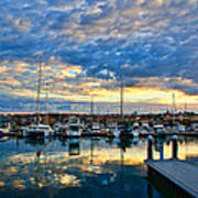 Mindarie Sunrise Poster by Imagevixen Photography