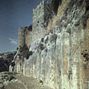 Moat Of Saladins Castle, A Byzantine Poster by Everett