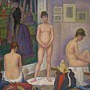 Models Poster by Georges Seurat