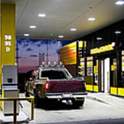 Modern Gas Station Poster by Jaak Nilson