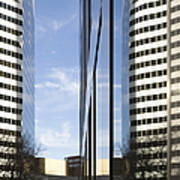 Modern High Rise Office Buildings Poster by Roberto Westbrook