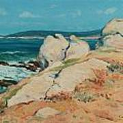 Monterey Coast Poster by Guy Rose