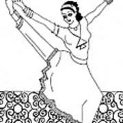 Moroccan Dancer Poster by John Keaton