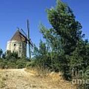 Moulin Of Daudet. Fontvieille. Provence Poster by Bernard Jaubert