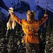 Mountain Man 1 Poster by Bob Christopher
