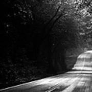 Mountain Road II Poster by Matt Hanson