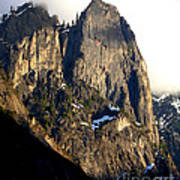 Mountains Of Yosemite . 7d6167 . Vertical Cut Poster by Wingsdomain Art and Photography