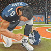My Man Tebow Poster by Lynette Brown