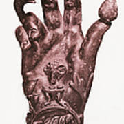 Mythological Hand Poster by Photo Researchers