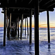 Nags Head Pier - A Different View Poster by Rob Travis