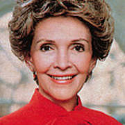 Nancy Reagan, 40th First Lady Poster by Photo Researchers