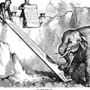Nast: Third Term, 1875 Poster by Granger