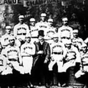 New York Giants, Baseball Team, 1889 Poster by Everett