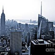 New York Skyline Poster by Thomas Splietker