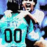 Nicolas Nixo Soccer Poster by Nicolas Nixo