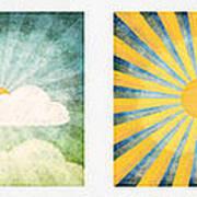 Night And Day  Poster by Setsiri Silapasuwanchai
