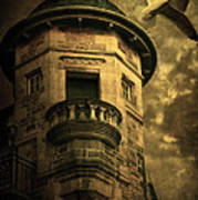 Night Tower Poster by Svetlana Sewell
