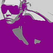 Niki In Glasses  Poster by Naxart Studio