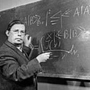 Nikolai Bogolyubov, Soviet Physicist Poster by Ria Novosti
