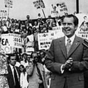 Nixon Presidency.  First Lady Patricia Poster by Everett