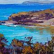 Norah Head Central Coast Nsw Poster by Graham Gercken