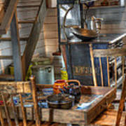 Nostalgia Country Kitchen Poster by Bob Christopher