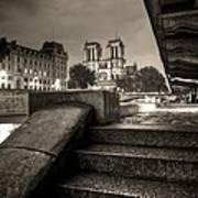 Notre-dame De Paris Poster by Matthieu Godon