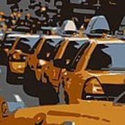 Nyc Traffic Color 6 Poster by Scott Kelley