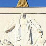 Oakland California Temple . The Church Of Jesus Christ Of Latter-day Saints . 7d11350 Poster by Wingsdomain Art and Photography