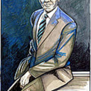 Obama 2012 Poster by Dave Olsen
