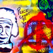 Occupy Einstein Poster by Tony B Conscious