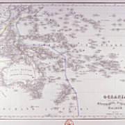 Oceania (australia, Polynesia, And Malaysia) Poster by Fototeca Storica Nazionale