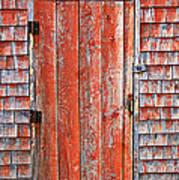 Old Orange Door  Poster by Garry Gay