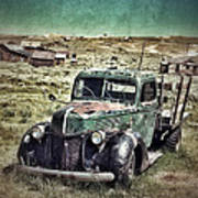 Old Rusty Truck Poster by Jill Battaglia