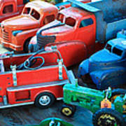 Old Tin Toys Poster by Steve McKinzie