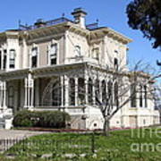 Old Victorian Camron-stanford House . Oakland California . 7d13445 Poster by Wingsdomain Art and Photography
