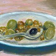 Olives Poster by Scott Bennett