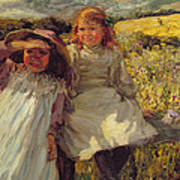 On The Stile Poster by Frederick Stead
