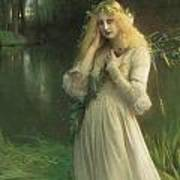 Ophelia Poster by Pascal Adolphe Jean Dagnan Bouveret