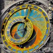 Orloj - Astronomical Clock - Prague Poster by Christine Till