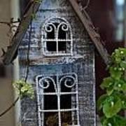 Ornamental Bird House Poster by Douglas Barnett