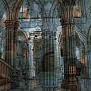 Palace Hall Poster by Angel Jesus De la Fuente
