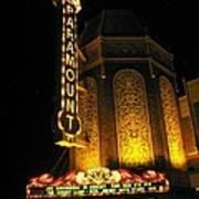 Paramount Theatre Illinois Poster by Todd Sherlock