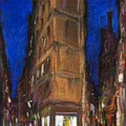 Paris Street 2 Poster by Yuriy  Shevchuk