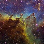 Part Of The Ic1805 Heart Nebula Poster by Filipe Alves