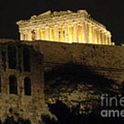 Parthenon Athens Poster by Bob Christopher