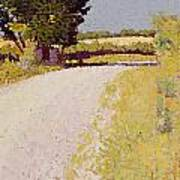Path In The Country Poster by Charles Angrand